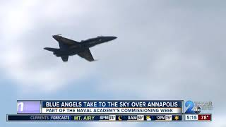 Blue Angels take to the sky over Annapolis