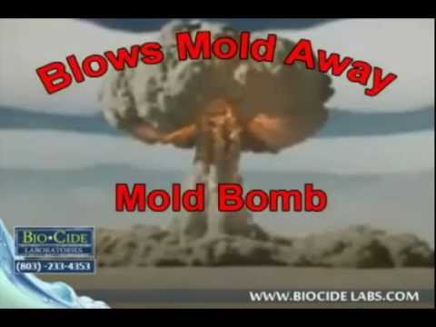 Mold Bomb Biocide LabsBlows Mold Away Call Today: (803) 233-4353
