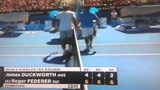 Federer advance. Australian Open 2014