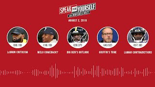 SPEAK FOR YOURSELF Audio Podcast (8.2.19) with Marcellus Wiley, Jason Whitlock | SPEAK FOR YOURSELF
