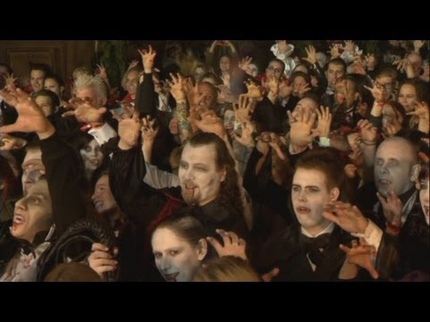 Vampire world record attempt in Crawley