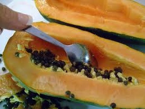 Adelgaza Muchísimo con Semilla de Papaya / Lose Weight with Papaya Seeds