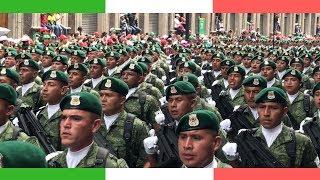 MASSIVE Mexican Military Parade 🇲🇽 // Desfile Militar en el Zócalo de la CDMX