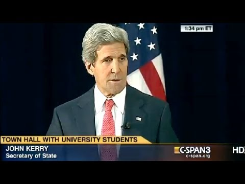 Kerry Responds to Putin's Crimea Speech
