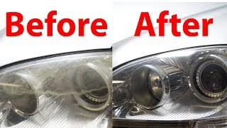 How to Fix Faded Headlights and Make Them Last FOREVER!