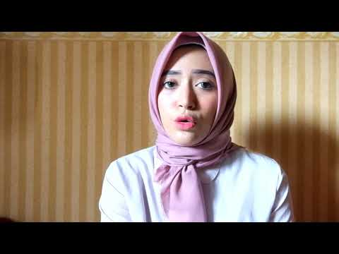 Hijab Tutorial Segiempat - Simple