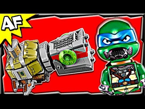 TURTLE SUB Undersea Chase 79121 Lego Teenage Mutant Ninja Turtles Animated Building Review