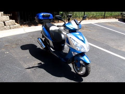 Taotao ATM150-A Evo scooter - review. walkaround. opinions. costs. upgrades. pros and cons