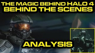 Halo 4 News - The Magic Behind Halo 4 - Behind The Scenes ANALYSIS