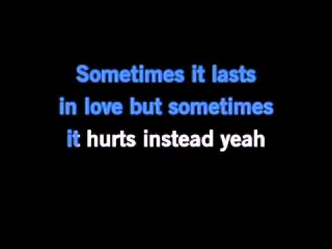 Adele - Someone Like You Karaoke video