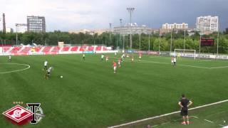 Вратарские моменты Спартака-1999 в первом круге ЛПМ-2016