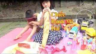 Chiếc Bánh Mì Dài ❤ Dạy Bé Yêu Biết Chia Sẻ Đồ Chơi Đồ Ăn Với Bạn ❤ Baby channel❤