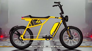 E-BIKES OF THE NEW GENERATION