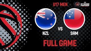 LIVE - New Zealand v Samoa - FIBA U17 Oceania Championships 2019