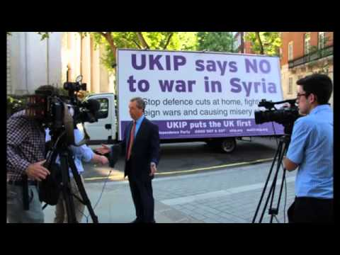 BBC Radio Any questions - UKIP Leader Nigel Farage debating Syria, August 2013