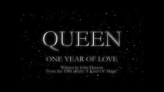 Watch Queen One Year Of Love video
