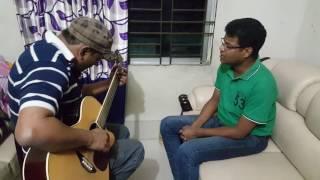Casual home recording,Improvisation bangla song