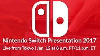 download Nintendo Switch Presentation 2017 Video