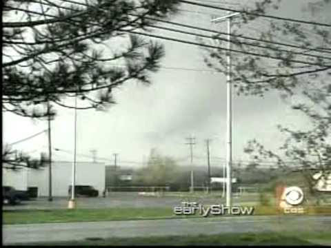 Mike Seidel The CBS Early Show  Gallatin, TN F4 Tornado  4-8-2006