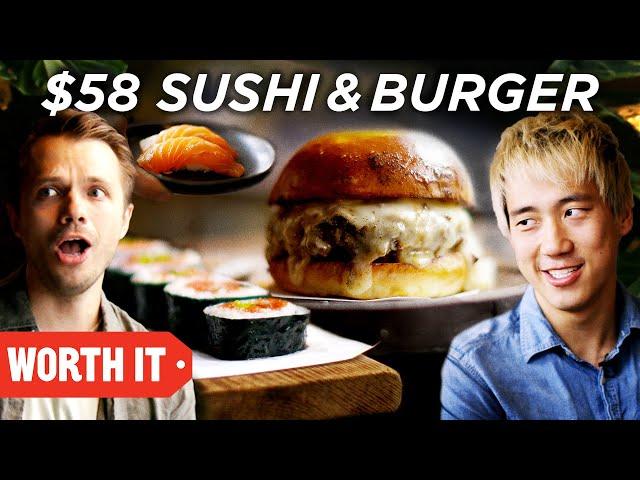 $10 Sushi & Burger Vs. $58 Sushi & Burger thumbnail