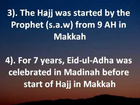 Is Eid ul Adha Connected with Hajj in Makkah? 2015 Dhul Hijjah Udhiyyah Sacrifice Qurbani -