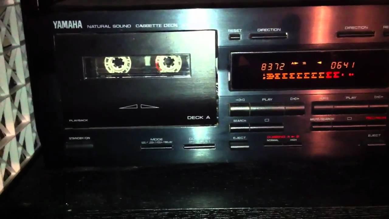 Yamaha Cassette Deck Repair Yamaha Kx-w321 Cassette Deck