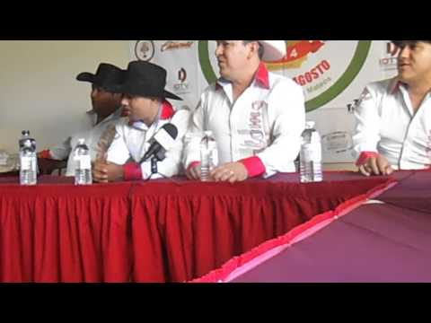 RUEDA DE PRENSA DE PALOMO EN LA FERIA MAGICA DE TECATE 2014
