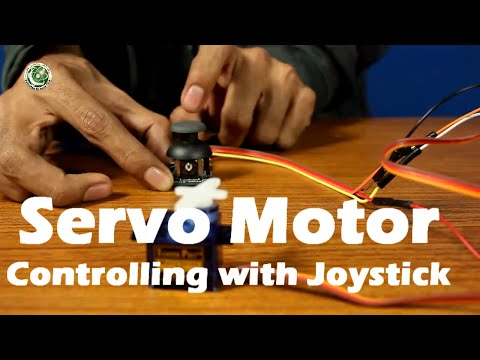 Arduino Tutorial #5 In Urdu, Servo Motor Controlling With Joystick