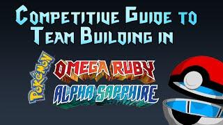 Pokemon Oras Ubers Team Building Guide