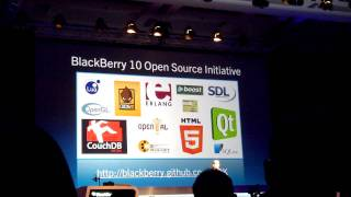 BlackBerry 10 SDK Announcement at DevCon Asia