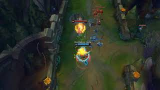 League of Legends   Missing couple of minions before a play