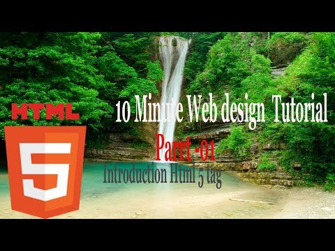web design tutorial for beginners  Part -1
