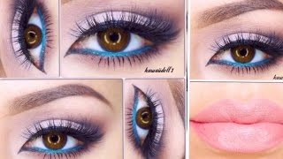 POP COLOR EYES MAKEUP BY PAO