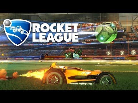 Rocket League [PS4] #1 - Samochodowa Piłka Nożna