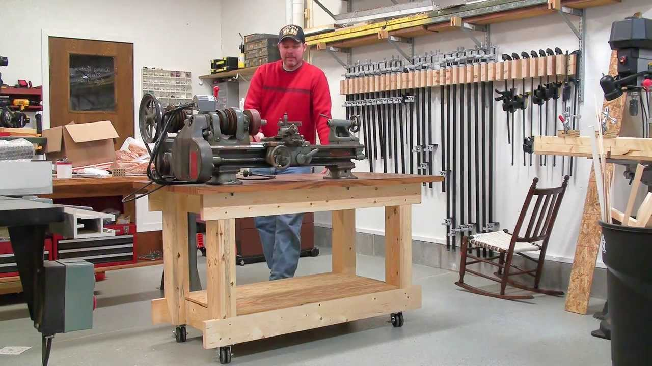 Work Benches On Wheels RDM WorkBench A 109PHD Heavy Duty