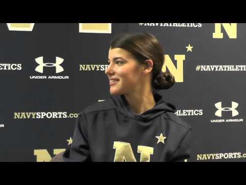 Navy Sports Magazine - Women's Lacrosse Jenna Collins (2-9-16)