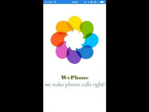 WePhone - 5 Star Phone Call App / Calling App / Record Phone Calls / WhatsApp.Skype.Viber.Vonage
