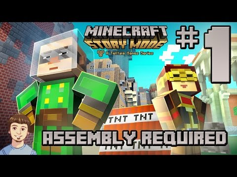 Minecraft: Story Mode - EPISODE 2 PART 1 - Assembly Required (Gameplay Walkthrough)