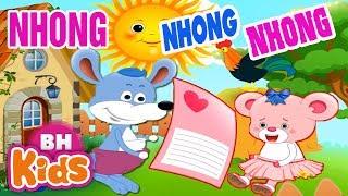 LK Nhong Nhong Nhong Cha Làm Con Ngựa ♫ Nhạc Thiếu Nhi Cho Bé Mầm Non
