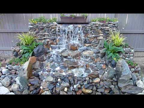 Diy water fall how to 39 s ponds playlist for Garden waterfalls do it yourself