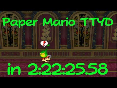 (TAS) Paper Mario: The Thousand-Year Door in 2:22:25.58 by Malleo