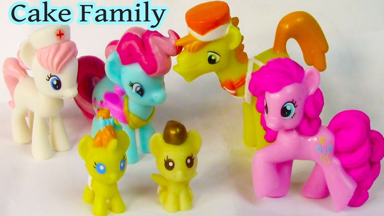 My Little Pony Pound Cake And Pumpkin Cake Toys