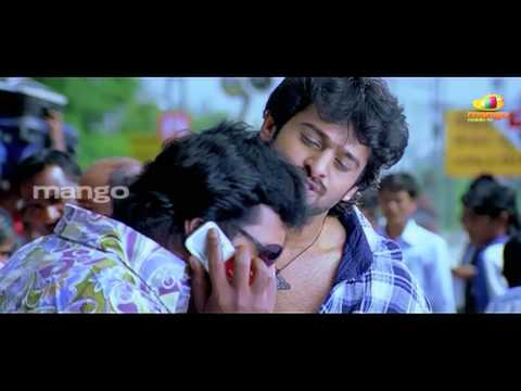 sunil over action with prabhas - mirchi hero prabhas bujjigadu movie comedy scenes - prabhas trisha