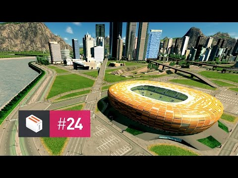 Let's Design Cities Skylines — EP 24 — The Arena