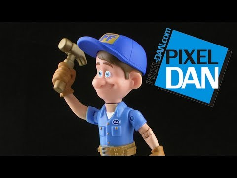 Disney Wreck-It Ralph Fix-It Felix Jr Action Figure Review