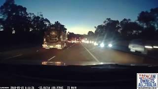 Flying Beer Keg causes crash on Australian Motorway