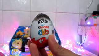 Abrindo Surpresa: KINDER OVO - Lu Collection