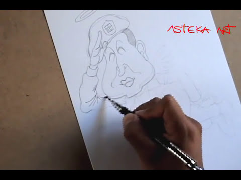 Prácticas de Dibujo PROFESIONAL- CARICATURA 1-