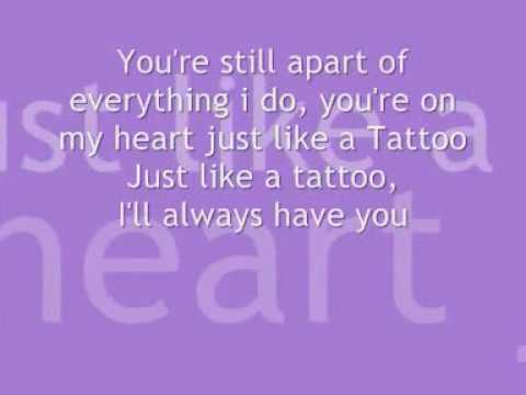 Jordan Sparks - Tattoo Lyrics