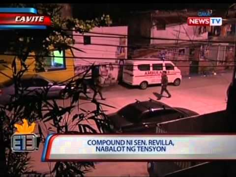 NTL: Compound ni Sen. Revilla sa Cavite, nabalot ng tensyon